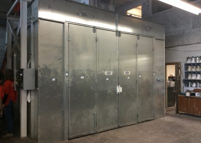 Custom Industrial Paint Booth